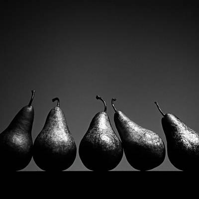 Pears Print by Eddie O'Bryan