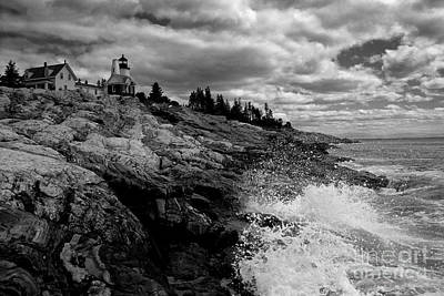 Pemaquid Point Lighthouse Print by Keith Kapple