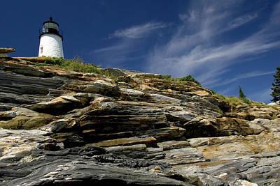 Downeast Photograph - Pemaquid Point Lighthouse by Rick Berk