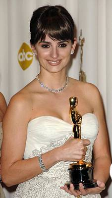 Penelope Cruz, Best Supporting Actress Print by Everett