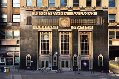 Suburban Digital Art - Pennsylvania Railroad Suburban Station by Bill Cannon