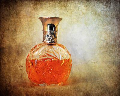 Antique Photograph - Perfume Bottle II by Jai Johnson