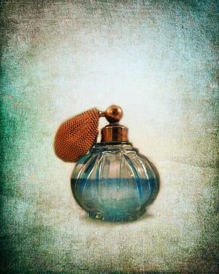 Antique Photograph - Perfume Bottle Iv by Jai Johnson