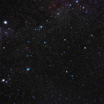 Perseus Constellation Print by Eckhard Slawik