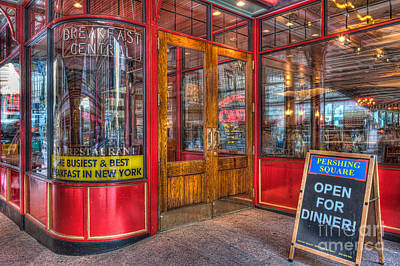 Pershing Square Central Cafe IIi Print by Clarence Holmes