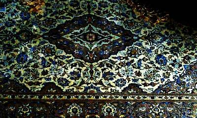Persian Rug Print by Unique Consignment