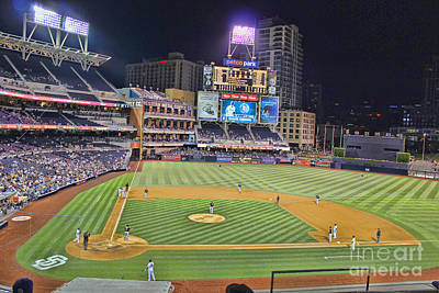 San Diego California Baseball Stadiums Photograph - Petco Park San Diego Padres by RJ Aguilar