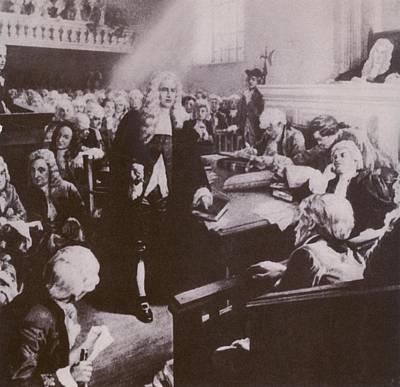 Free Speech Photograph - Peter Zengers Philadelphia Lawyer by Everett