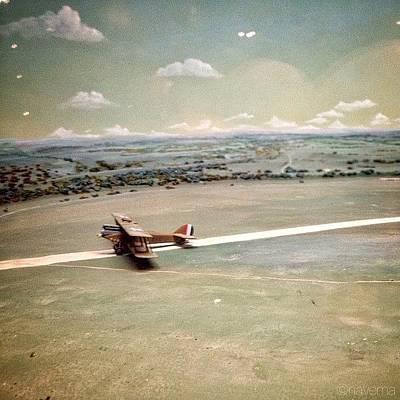 Airplane Photograph - Petite Plane by Natasha Marco