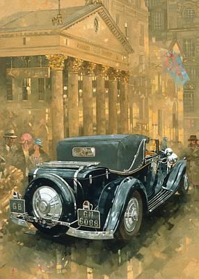 Phantom In The Haymarket  Print by Peter Miller