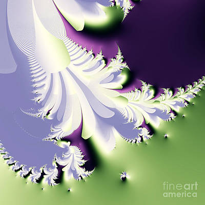 Classic Fractal Art Digital Art - Phantom by Wingsdomain Art and Photography