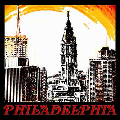Philadelphia Poster Print by Bill Cannon