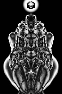 Transcend Digital Art - Philosopher Stone by David Kleinsasser