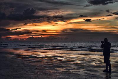 Self-portrait Photograph - Photographing Sunsets by Douglas Barnard