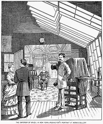 Photography Studio, 1876 Print by Granger