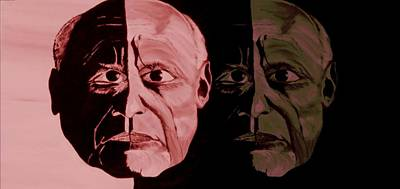 Picasso Legend Print by Mark Moore