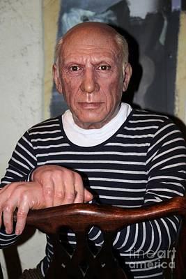 Statue Portrait Photograph - Picasso by Sophie Vigneault