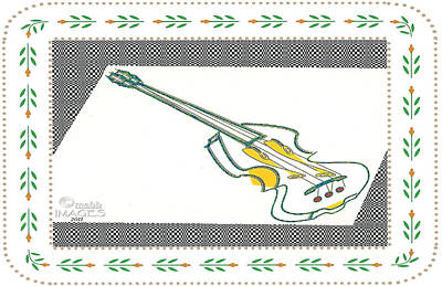 Piccasso's Violin Original by Maurice Beebe
