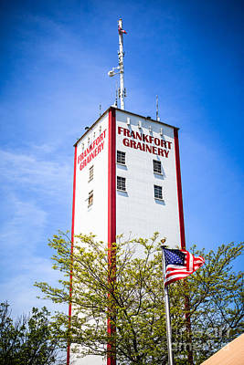 2009 Photograph - Picture Of Frankfort Grainery In Frankfort Illinois by Paul Velgos