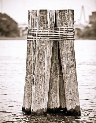 Pier Bound Print by Donni Mac