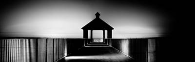 Pier Panoramic Print by Pixel Perfect by Michael Moore