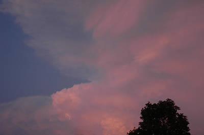 Pink And Blue Sky Print by LeeAnn McLaneGoetz McLaneGoetzStudioLLCcom