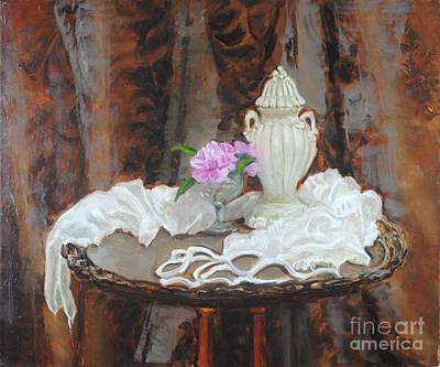 Pink Camellias Original by Kristi NicolaClark