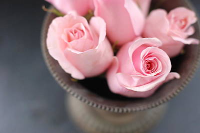 Pink Roses Print by Shawna Lemay