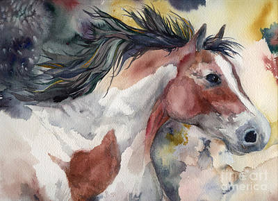 Pinto Painting - Pinto Spirit by Dotty  Reiman