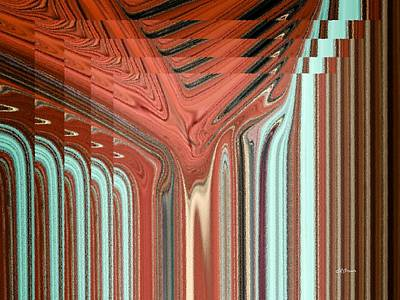 Pixel Stretching Digital Art - Pipe Dream by Greg Reed Brown