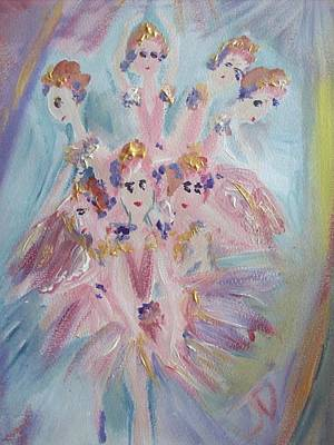 Pirouette Print by Judith Desrosiers