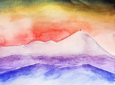 Great Smokey Mountains Painting - Pisgah And The Rat by Gray  Artus