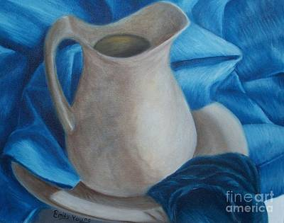 Water Pitcher Painting - Pitcher by Emily Young