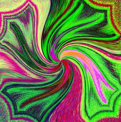 Enthusiasm Digital Art - Pizzazz 41 by Will Borden