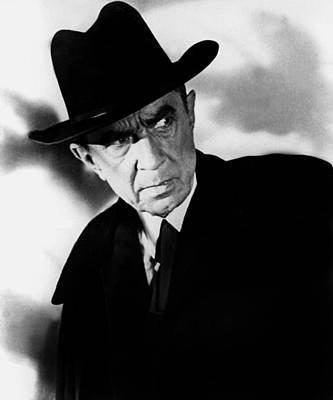 Plan 9 From Outer Space, Bela Lugosi Print by Everett