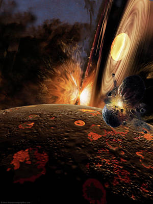Painting - Planet Formation by Don Dixon