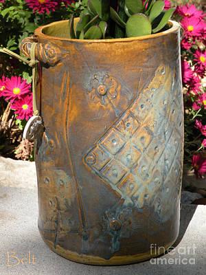 Ceramics Ceramic Art - Planter by Christine Belt