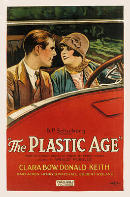 Cloche Hat Photograph - Plastic Age, The, Donald Keith, Clara by Everett