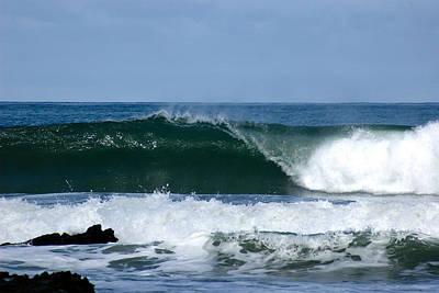 Surfing Photograph - Playa Stanta Teresa Wave by Josh Whalen