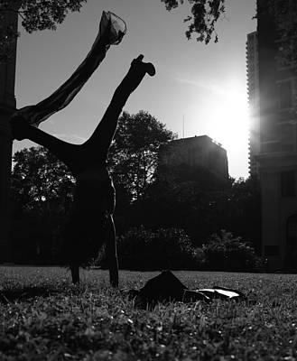 Playing With The Sun II - Philadelphia - Pensilvania - Sunset Print by Lee Dos Santos
