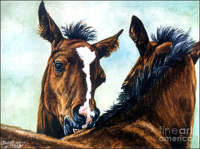 Racing Painting - Playtime by Thomas Allen Pauly