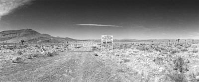Plutonium Valley Print by Jan Faul