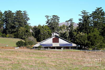 Point Reyes Visitors Center In Point Reyes California . 7d9788 Print by Wingsdomain Art and Photography