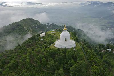 Pokhara, Nepal, Asia- World Peace Print by Keenpress