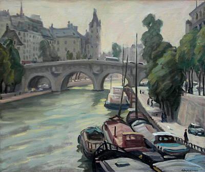 Pont Neuf A Paris Original by Thor Wickstrom