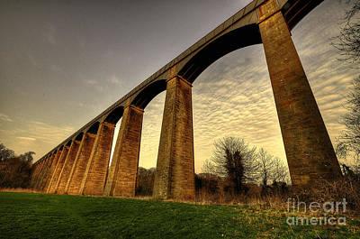 Pontcysyllte Aqueduct Print by Rob Hawkins