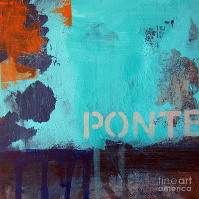 Ponte Print by Linda Woods