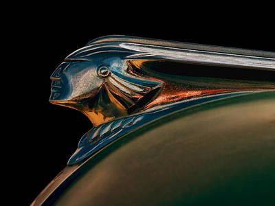Car Mascot Digital Art - Pontiac Indian Chief by Douglas Pittman