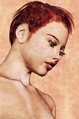 Portrait - No. 10 - Colour Print by Maynard Ellis