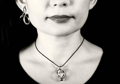 Necklace Photograph - Portrait by Joana Kruse
